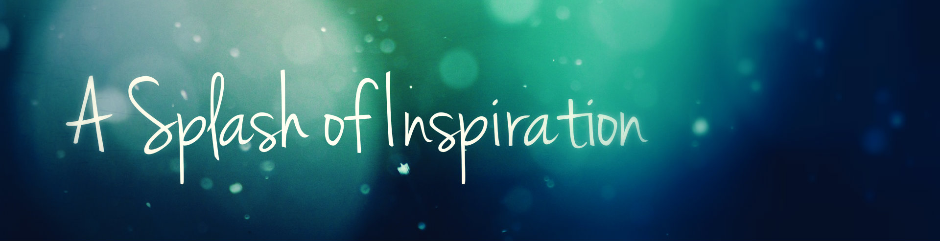 Headers | A Splash of Inspiration
